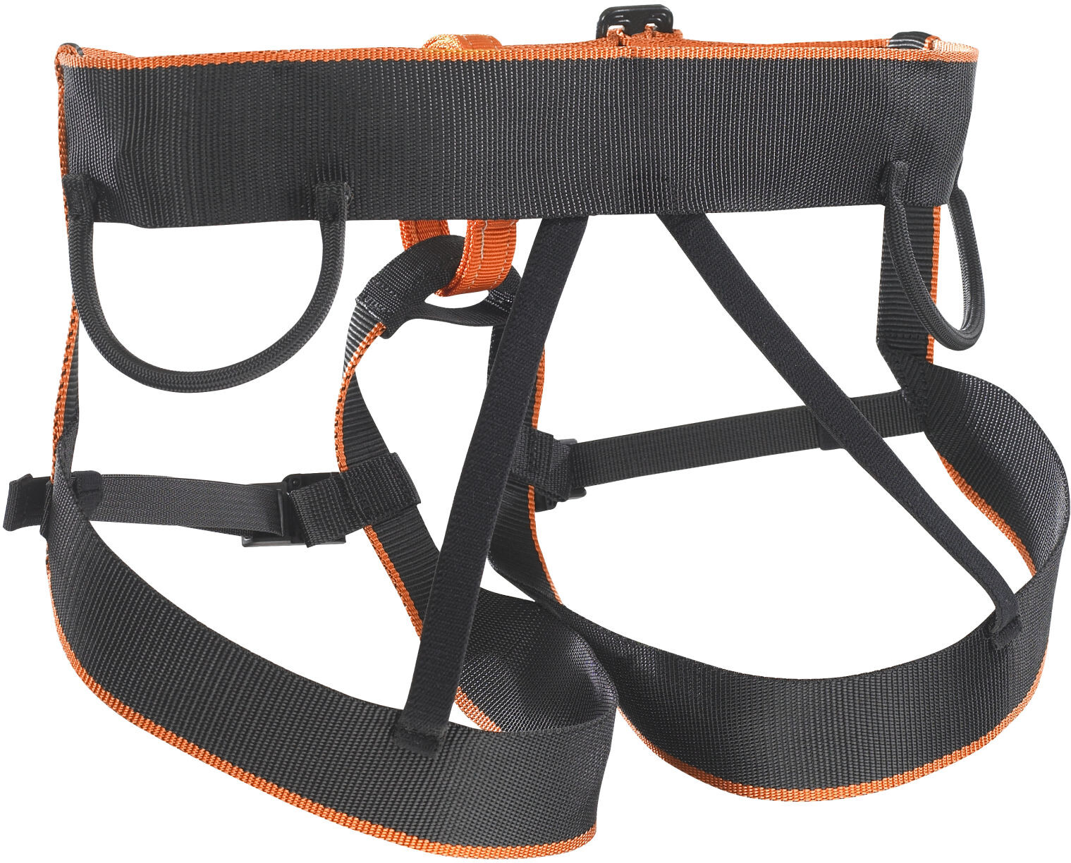 Skylotec Klettergurt : Skylotec pyrit harness black orange campz